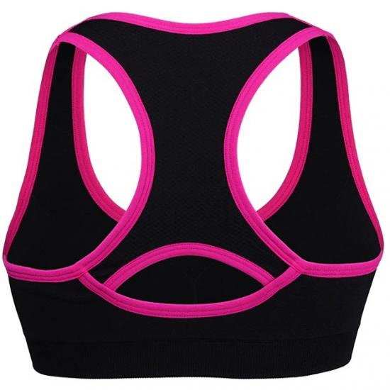 Shockproof Fitness Sports Bra,Padded Push Up Breathable Bra for Sports,Moisture Wicking Running Bra