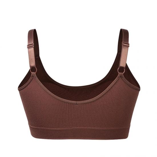 Comfortable Seamless Sports Bra Women Fitness Top Yoga Bra, Running Yoga Gym Women Bra