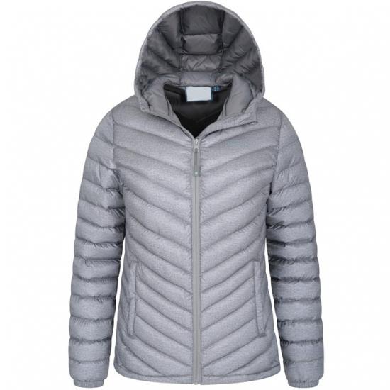 Winter Season Hoodied Qulit Jacket For women