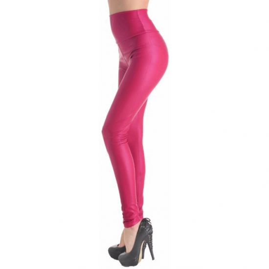Women Sexy Leggings Faux Stretch Legging High Waist Leggings Pants