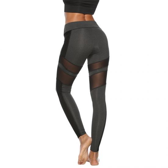 Female Push Up Leggings Sports wear Casual Mesh Patchwork Women Workout Leggings High Waist