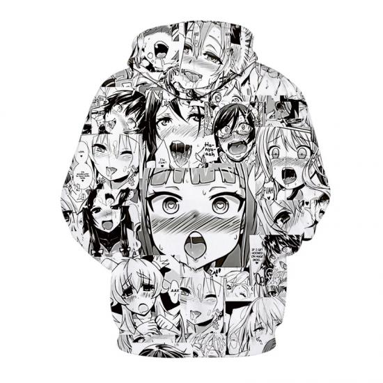 Print Hoodies Women Tops Coat