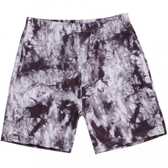 Female Tie-Dye Print Yoga Shorts Women Summer High Waist Sport Running Gym Fitness Shorts