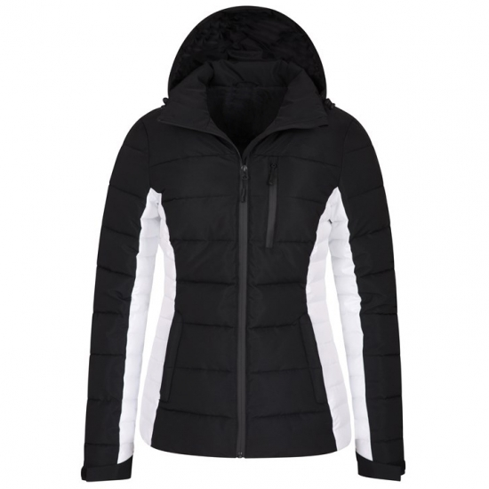 New Fashion Quilted Women Jacket With Hoodie