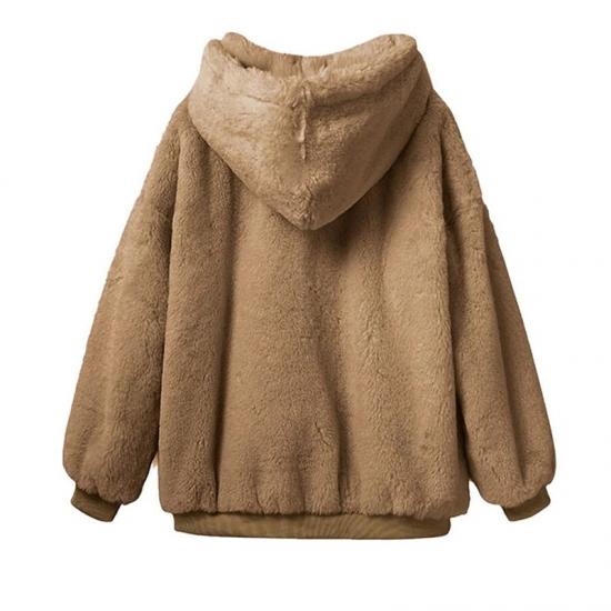 Plush Sweatshirt Warm Hoodies For Women