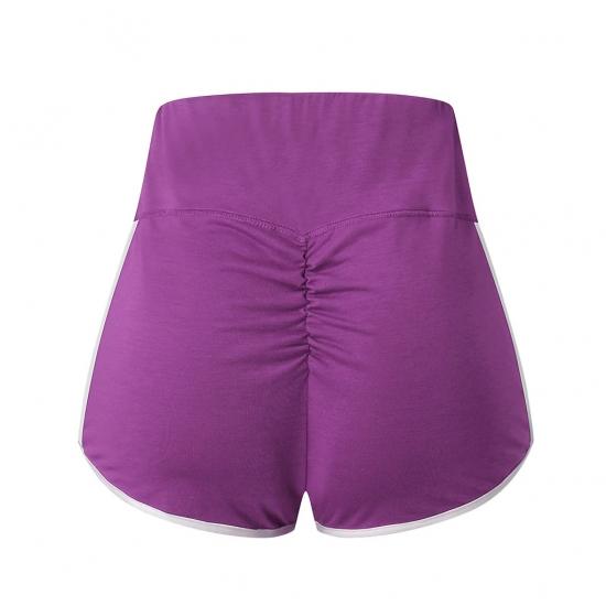 Women Slip Shorts Yoga Shorts Push Up Solid Compression Workout Fitness Yoga Shorts