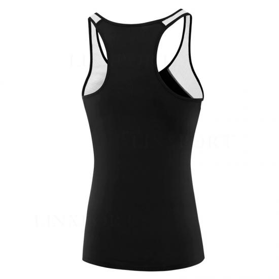 Female SportS Tops Sleeveless Yoga Shirt Exercise Workout Sports T-Shirts Women Running Singlets