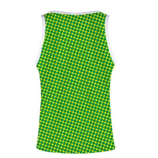 Tank Top Women Summer Vest T shirt Fashion Tee Cool Pop Style Fashion T-shirt 3D Polka Dot Tees