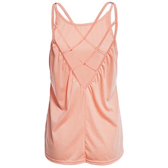 Custom Back Stripped Plate Style Women Singlet For Casual Wear Women