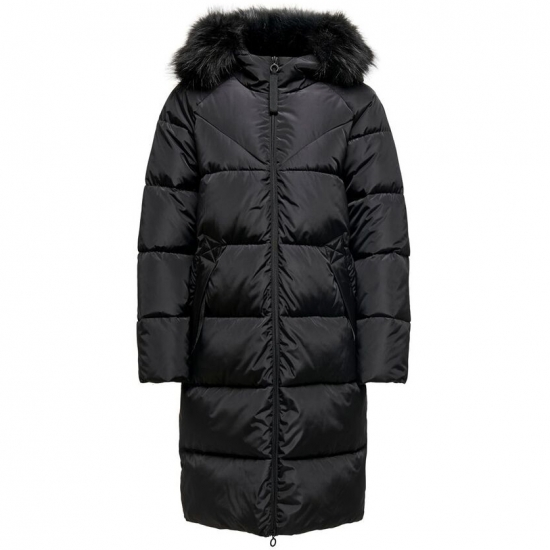 New Snowy Season Long Length Hoodied Quilt Jacket For Women