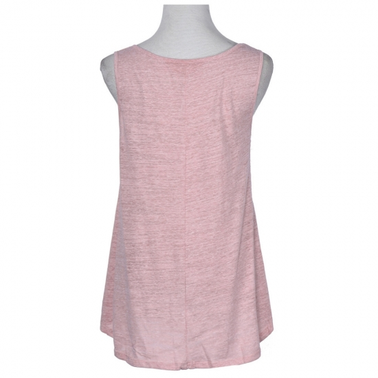 Plus Size Solid Color Casual Custom Singlets Women For Street And Gym Wear