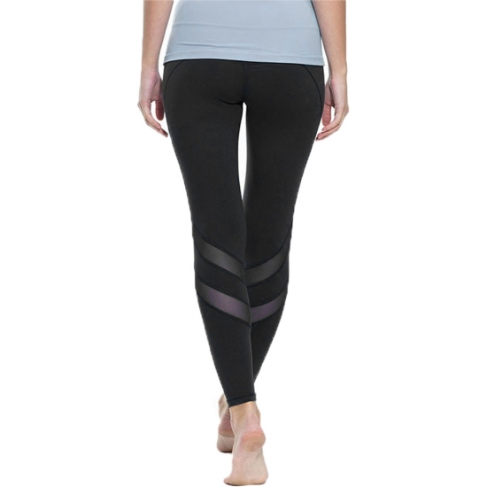 New Design Hollow Out Perspective Yoga Woman Fitness Leggings
