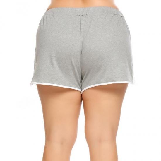 Women Yoga Shorts Reflective Strip Seamless Sports Short Fitness Female Tight High Waist Hip-UP