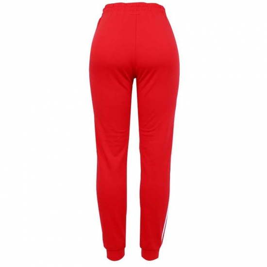 High Waist Loose Fleece Sweatpants Trousers With Out Pockets  Fall Winter