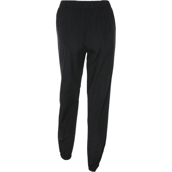 New Fashion Full Said Strep Joggers Sweatpants Women High Waist Loose Street Hip Hop Casual Pants
