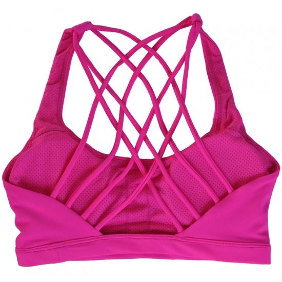 Sexy Fitness Bra Breathable Gym Padded Sports Bra Fashion Women Sports Bra