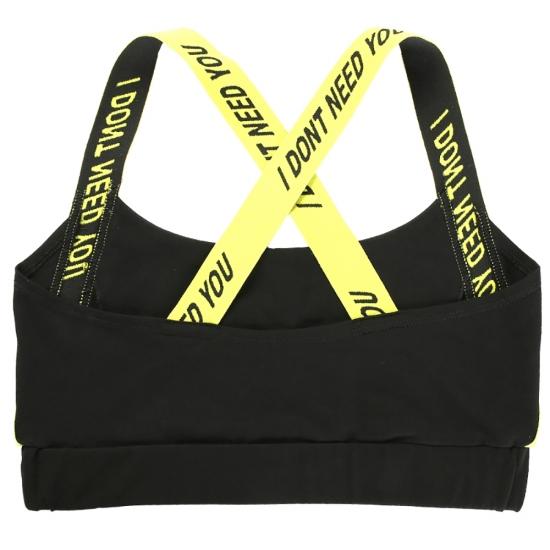 Sports Bra Women Soft Compression Supportive Yoga Sports Bra Women