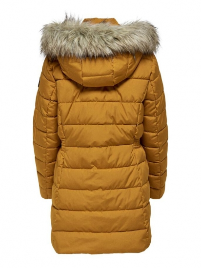 Button Design Long Length Waterproof Padded Jacket For Women