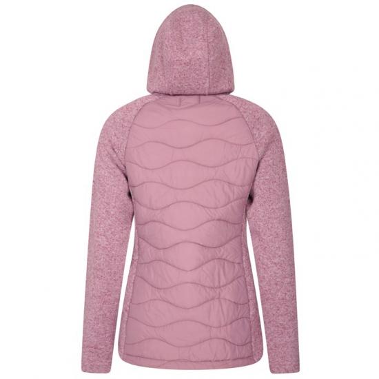 Custom Design Padded Fleece Hoodie Women