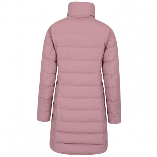 Long Length Water Proof Warm Neck Quilted Jacket Women