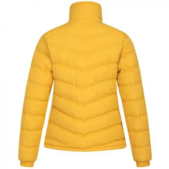 Warm Neck Quilted Padded Jacket For Women