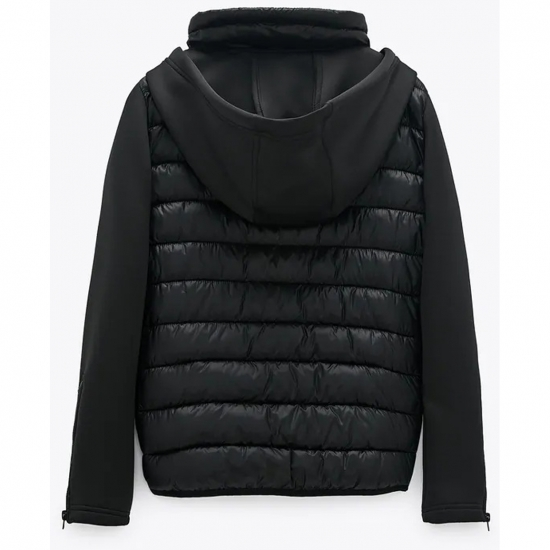 Women Padded Quilted Jacket For Winters