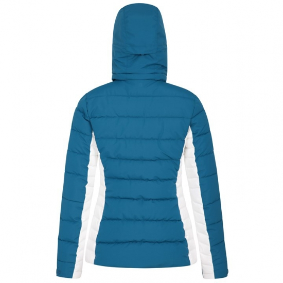 Ped Stripped Women Quilt Hoodie