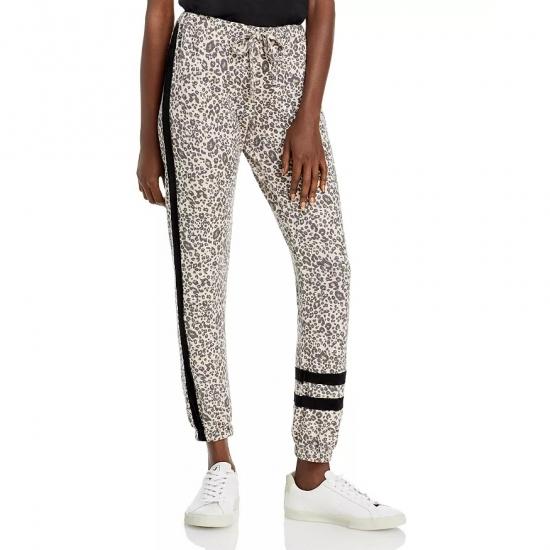 Leopard Printed Custom Design Jogger Pants Women