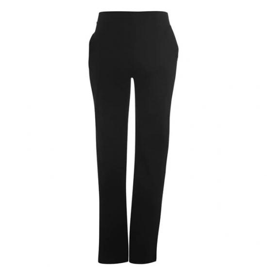 Slim Bottom Black Color Custom Jogger Pants For Women
