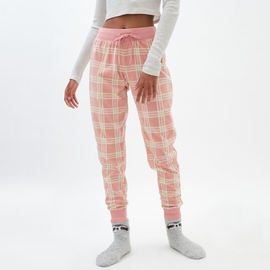 Stylish Check Print Casual Wear Jogger Pants For Gym And Fitness workout