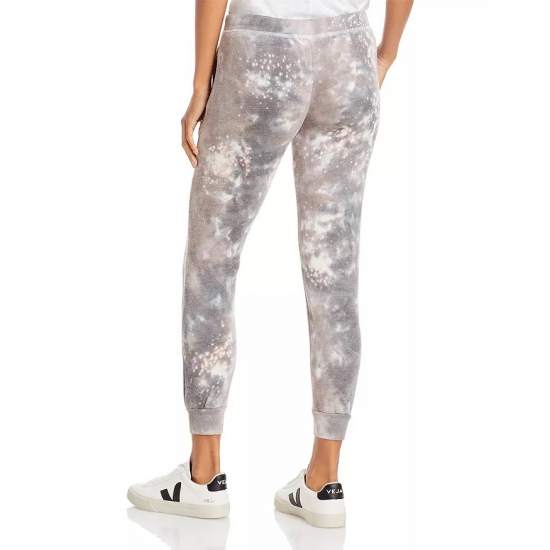 Sexy Tie Die Printed Jogger Pants For Girls