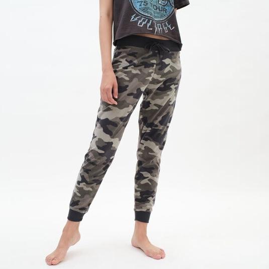 Camo Printed Women Jogger Pants