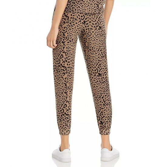 Leopard Printed Casual Wear Jogger Pants For Women