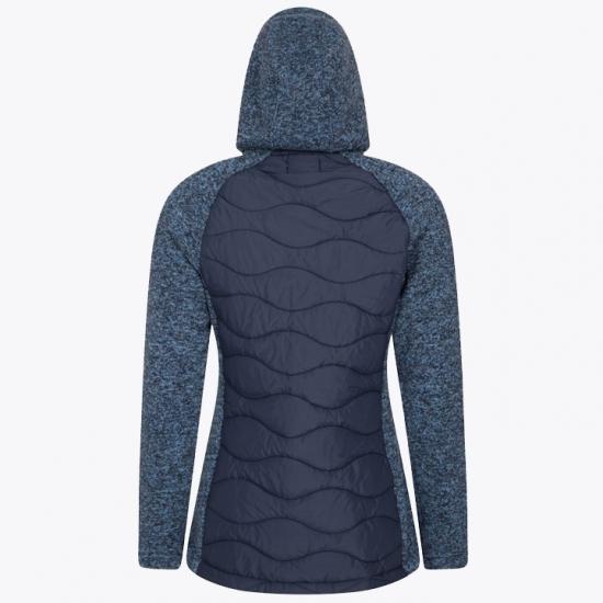 New Fashion Padded Fleece Hoodie Women