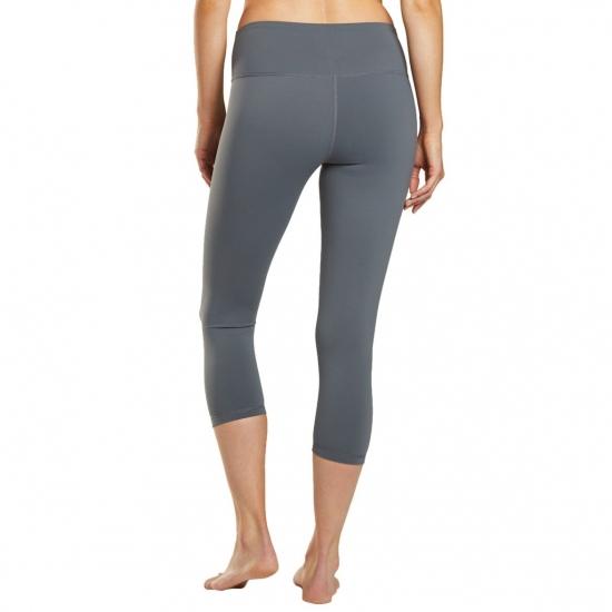 High Waistband Sexy Capri Pants for Yoga and Running Women