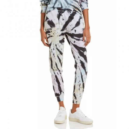Tiger Style Tie Die Printed Custom Jogger Pants Women