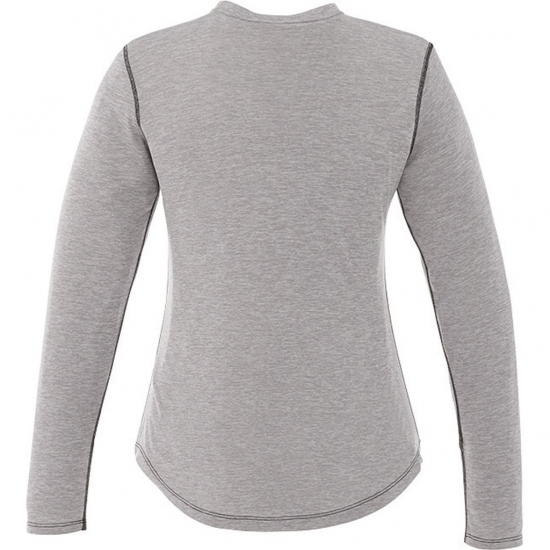 Sweat Wicking Fitness Wear Full Sleeve T Shirts For Women