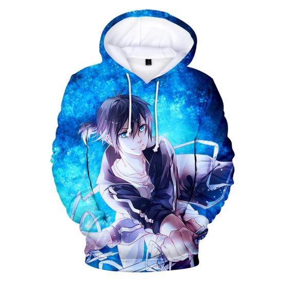 Women Casual Cool Sweatshirt Anime Printed Hoodies