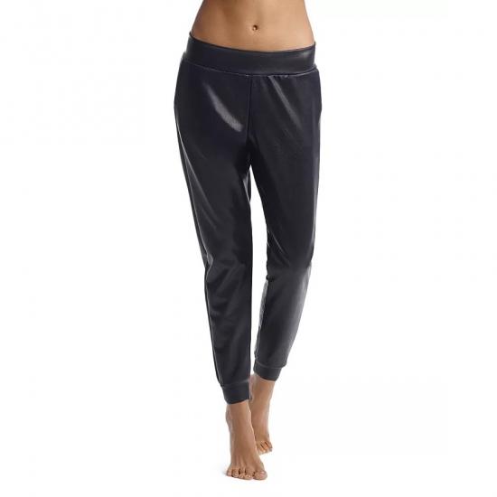 Stylish Shining Plain Color Jogger Pants For Women