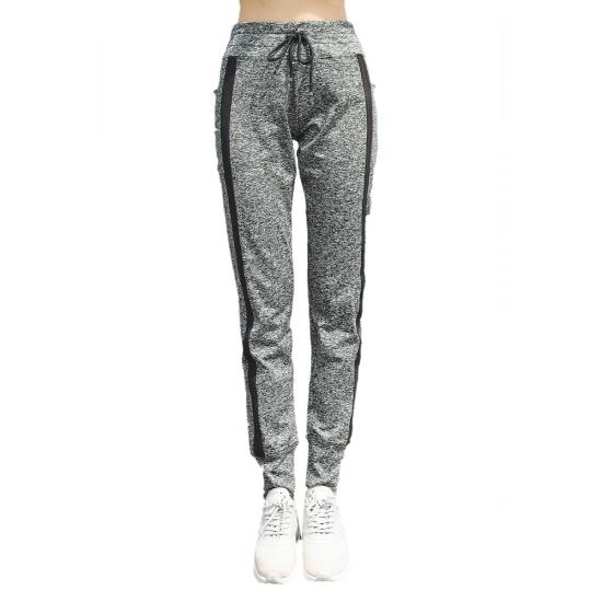 Winter Pants Women Elastic Waist Thick Warm Pencil Sweatpants Women Cotton Trousers