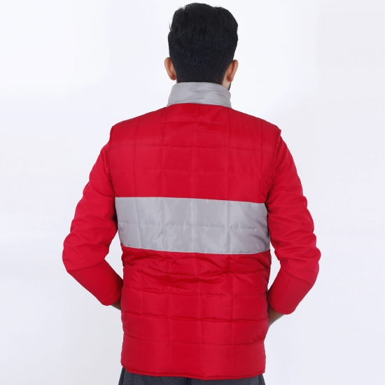 Men Sleeveless Quilt Jacket