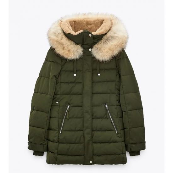 Fully Warm Winter Season Hoodied Quilt jackets Women