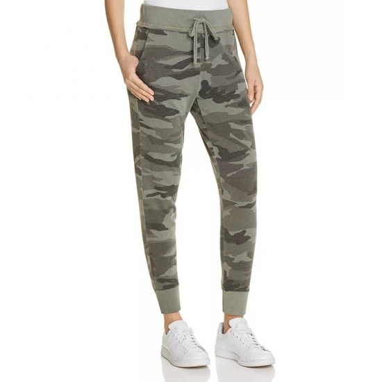 Camo Printed Casual Wear Jogger Pants For Women
