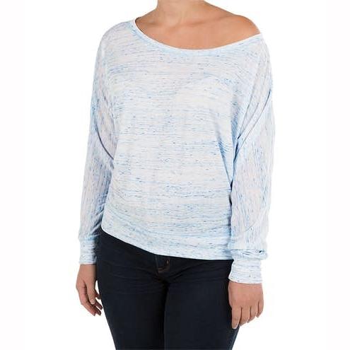 Women Long Sleeve Off Shoulder Casual T‑shirt
