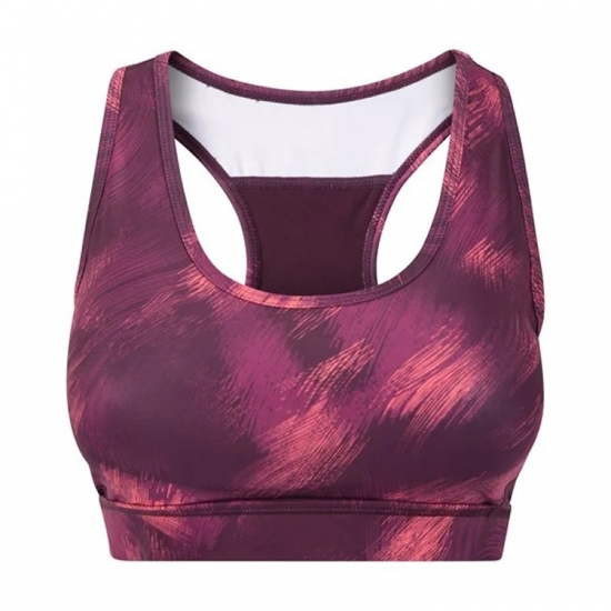 Racer Back Full Supportive Padded sports Bra For Yoga and Fitness Wear