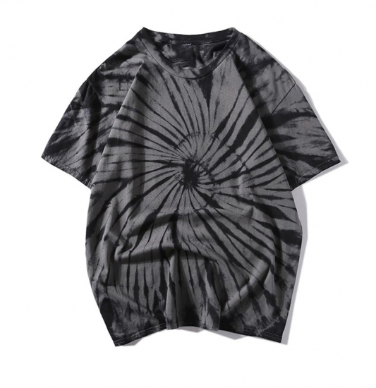 Tie Dye T Shirt Women 2020 Summer Round Neck Hip Hop Tee Shirts