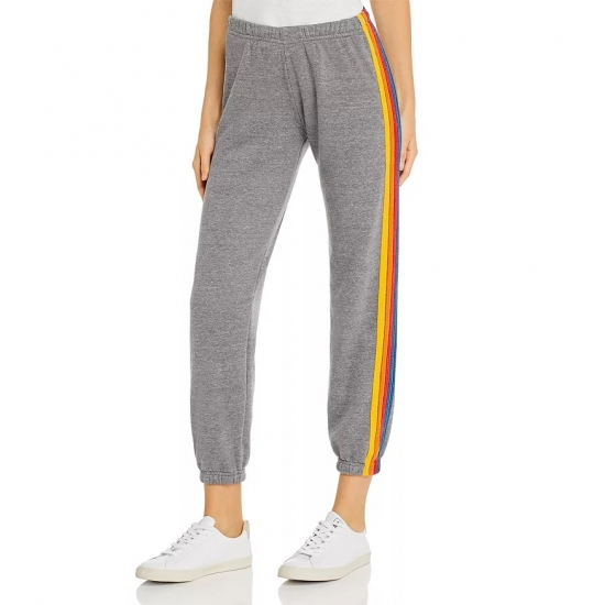 Side Lining Design Casual Joggers Women For Gym Wear And Running