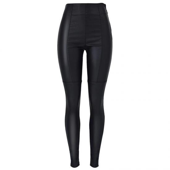 Winter High Waist Stretch Side Zipper Skinny Slim Pants Women Sweatpants Joggers Women Trousers