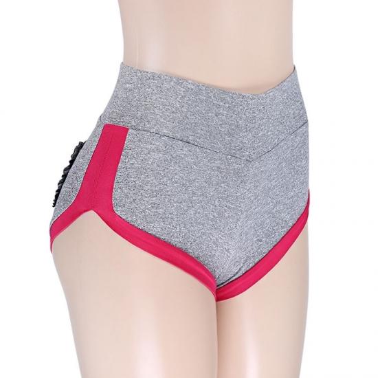 Women Yoga Shorts Strip Seamless Sports Short Fitness