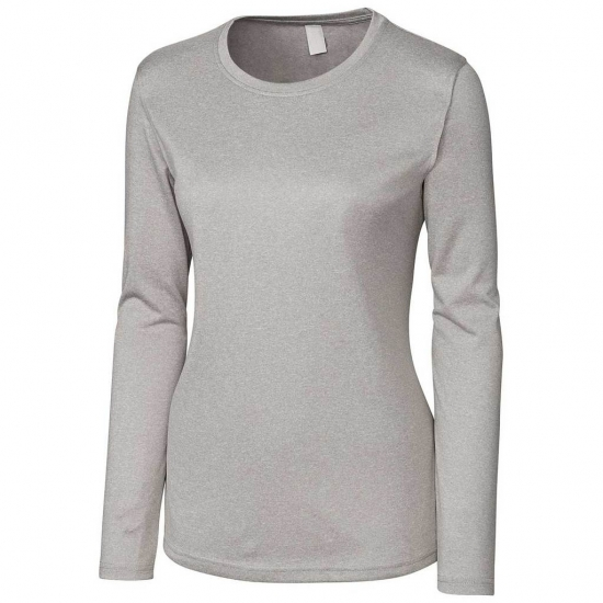 Women Solid Color Curvy Workout Tees
